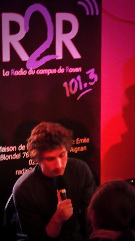 R2R était avec Baptiste Lecaplain !