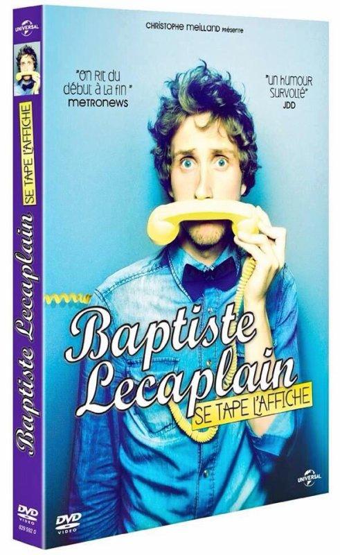 MARDI 5 NOVEMBRE SORTIE DU DVD DE BAPTISTE !