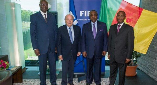 Le Président de la FIFA accueille la délégation camerounaise