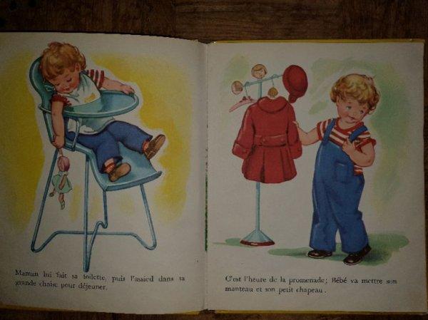 Le petit livre du dimanche: La journée de bébé