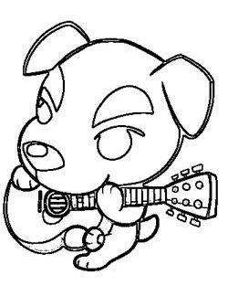 Coloriage Animal Crossing New Leaf.Participation A Un Concours De Coloriage Mcfly S Originals Pour