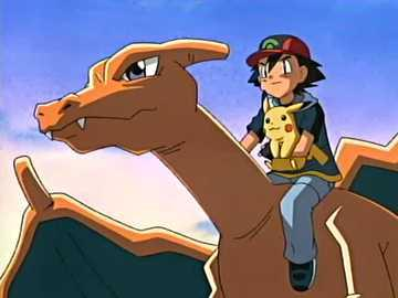 Sacha Et Dracaufeu Le Maitre Pokemon