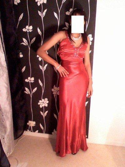 robe de soiré rouge