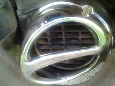 Écope de refroidissement (prise d'air) TNT