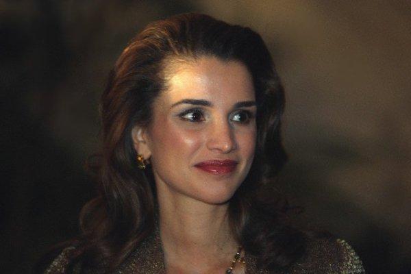 La reine Rania de Jordanie, la plus jeune reine du monde.