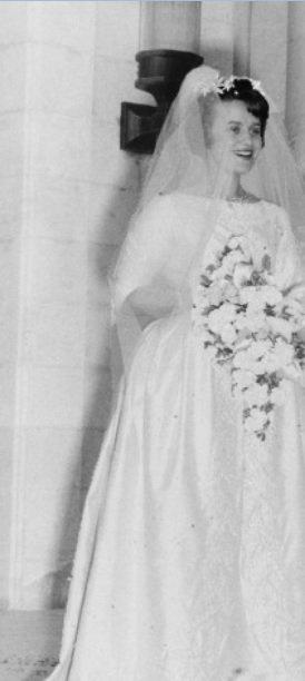 Le reine mère de Jordanie: la princesse Muna al-Hussein
