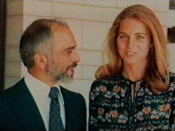 Une Americaine reine de Jordanie: la reine Noor al-Hussein
