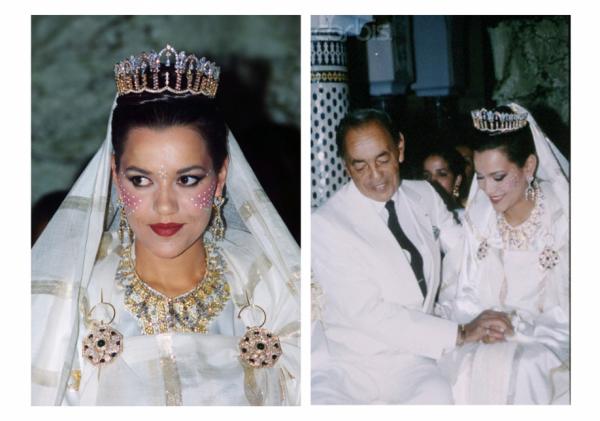 princesses du maroc diadmes et vtements de noces - Mariage Lalla Soukaina