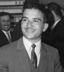 Feu sa majesté le roi Talal de Jordanie