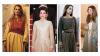Thoub traditionnel jordanien portés  par la reine Rania de Jordanie