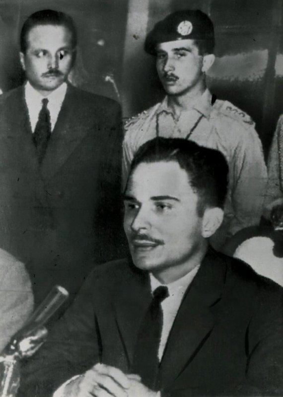 Photos d'archives: feu sa majesté  le roi Hussein de Jordanie