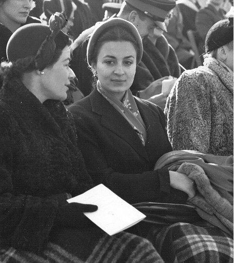 Photos d'archive: épouses du roi Hussein de Jordanie