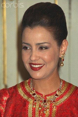 Photos d'archive: les princesse Lalla Aicha et Lalla Meryem