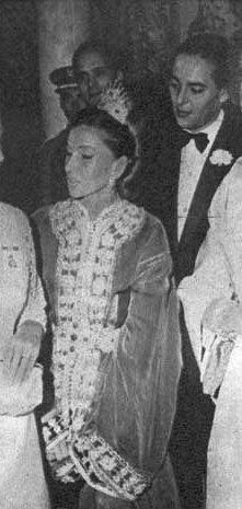 Photos d'archive: Le prince Moulay Abdallah et son épouse, la princesse Lalla Lamia Solh