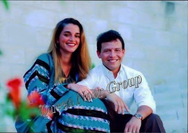 Photos d'archive: Le roi Abdullah II et la reine Rania