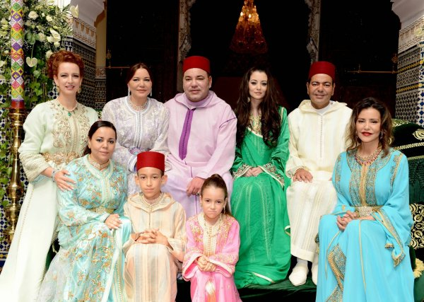 Photos d'archive: Le prince Moulay Rachid