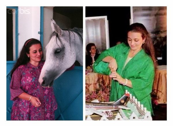 Photos d'archive: Les filles de feu le roi Hussein de Jordanie