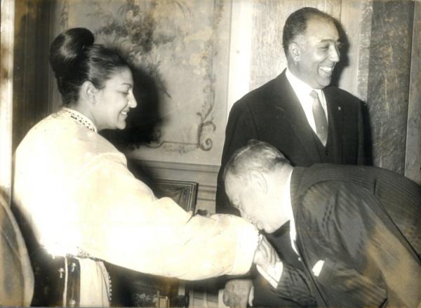 Photos d'archive:  Princesses du Maroc