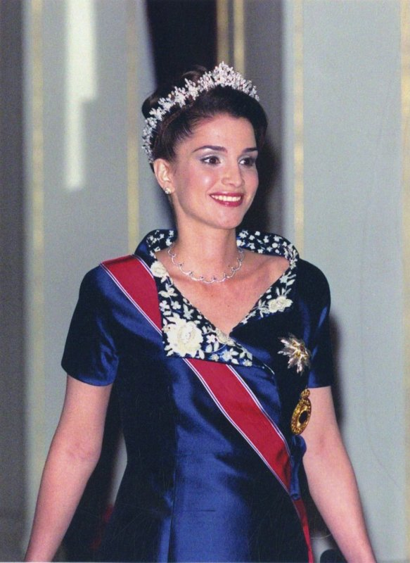 Photos d'archives:  La reine Rania de Jordanie