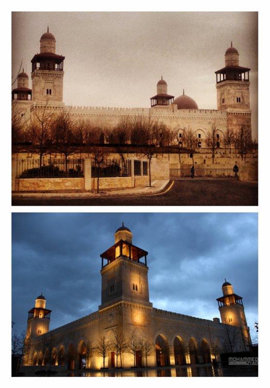 La mosquée Al-Hussein bin Talal d'Amman, Jordanie