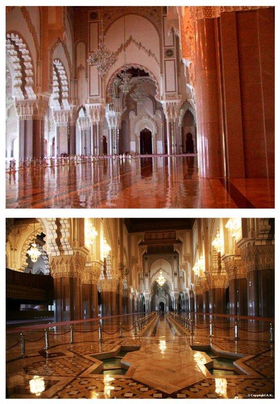 La mosquée Hassan II de Casablanca, Maroc