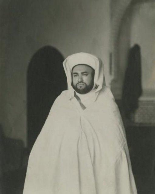 Monarques du Maroc: Le sultan Moulay Youssef, le roi Mohammed V et le roi Hassan II