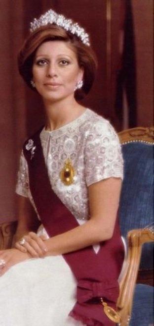 Feue la reine Alia de Jordanie.