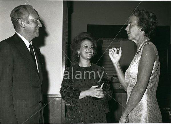 Photos d'archive: La princess Muna de Jordanie