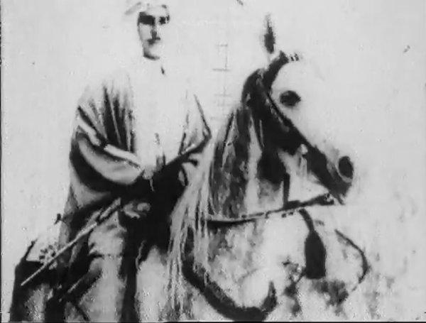 Le roi Talal le jour de son mariage