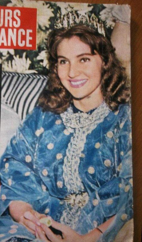 Photo d'archive: la princesse Lalla Lamia Solh le jour de son mariage au prince Moulay Abdallah du Maroc