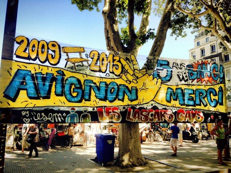 Dernier festival d'Avignon pour les lascars