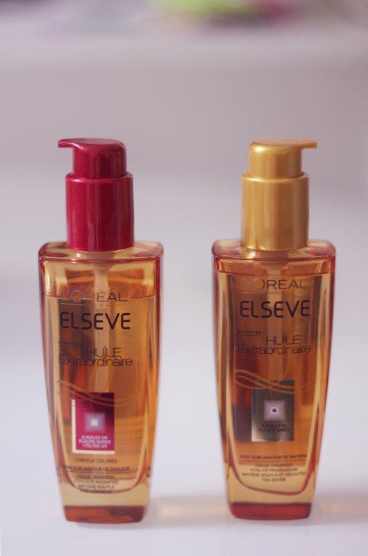 Revue article : Les huiles extraordinaire d'Elseve l'oréal