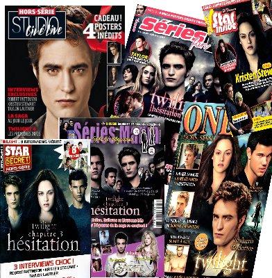 Magazines Hors-series Twilight du moment