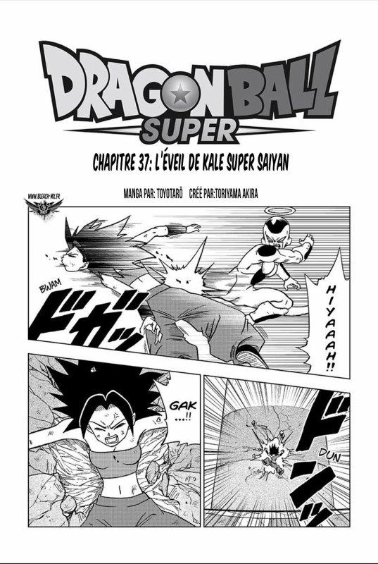 Scan Dragon Ball Super 37 VF