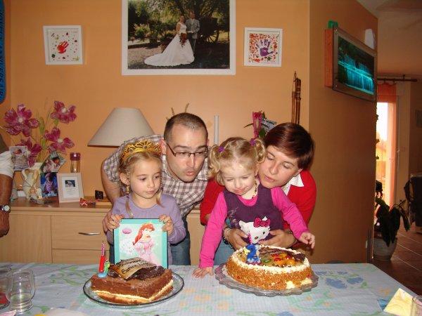 Joyeux Anniversaire à mes Princesses !