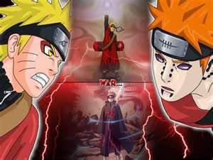 naruto vs pain(nagato)