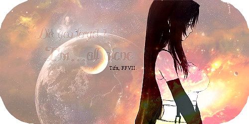 Article Final Fantasy : Tifa Lockheart ♥