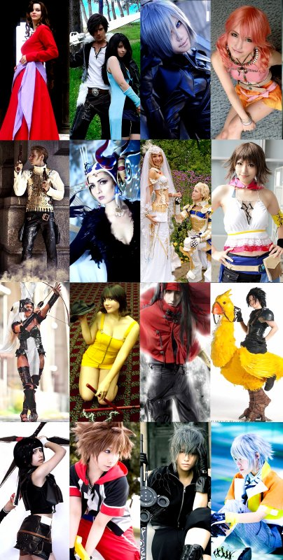 Article Final Fantasy : Le cosplay