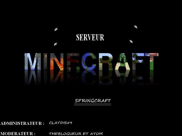 serveur minecraft cherche des habitants !