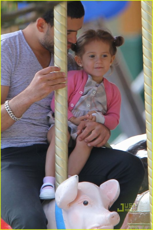 Jennifer Lopez avec ses jumeaux