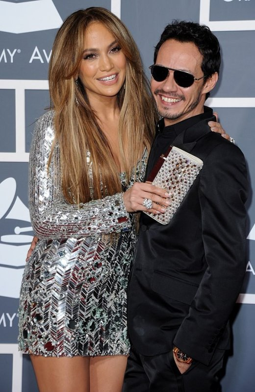 Jennifer et Marc Anthony au Grammy Awards 2011