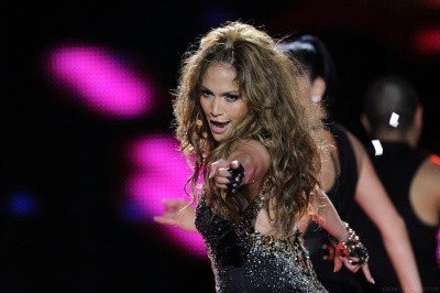 Jennifer au World Music Awards 2010