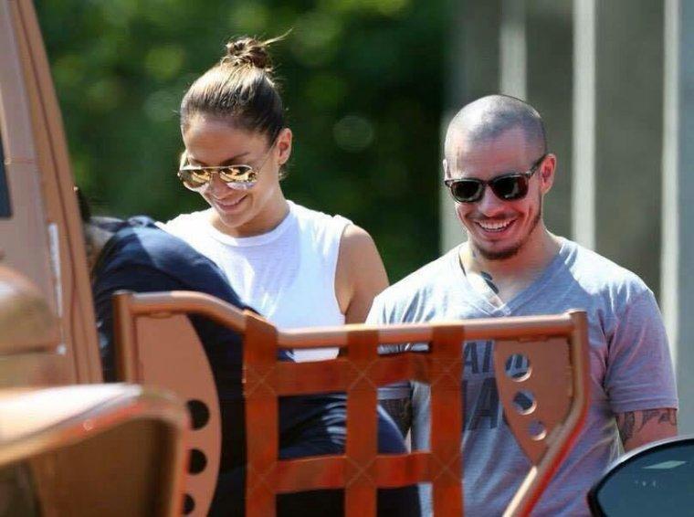 Jennifer et Casper dans les Hamptons le 07.07.2015