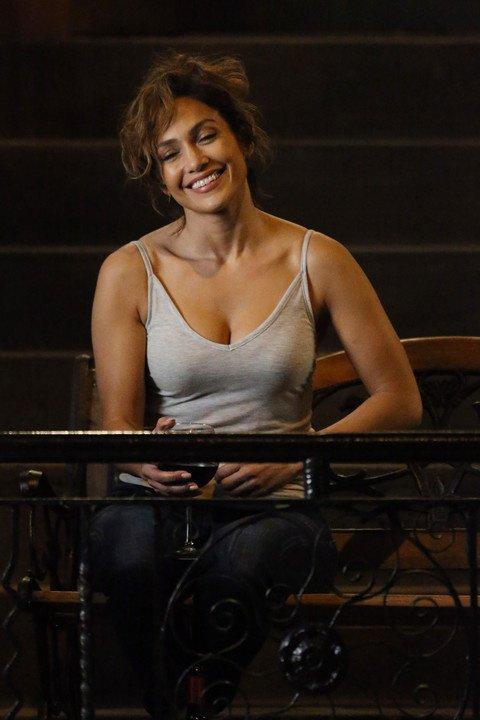 """J.Lo sur le set de """"Shades Of Blue"""" le 18.07.2015"""