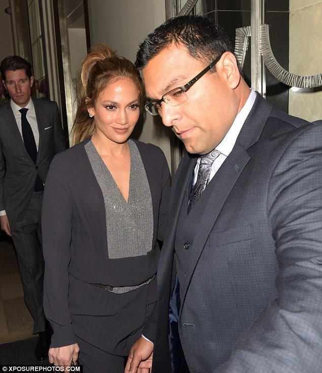 J.Lo à Londres le 10.04.2016