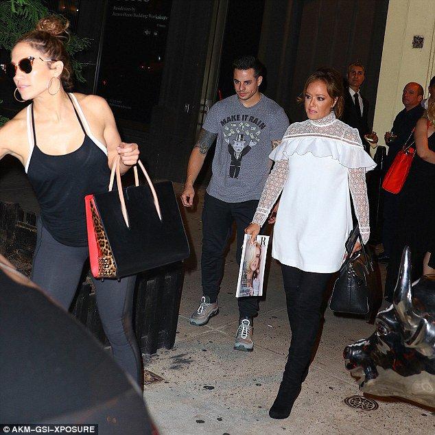 Jen' à New York le 30.06.2016