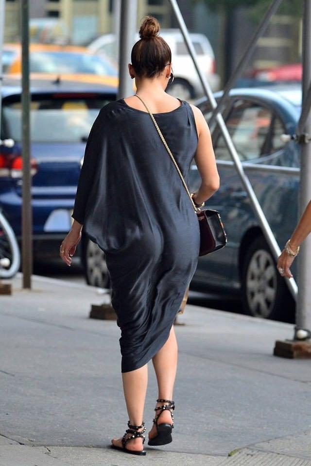 Jen' à New York le 10.09.2016 avec son amie Loren Ridinger et Ryan Seacrest