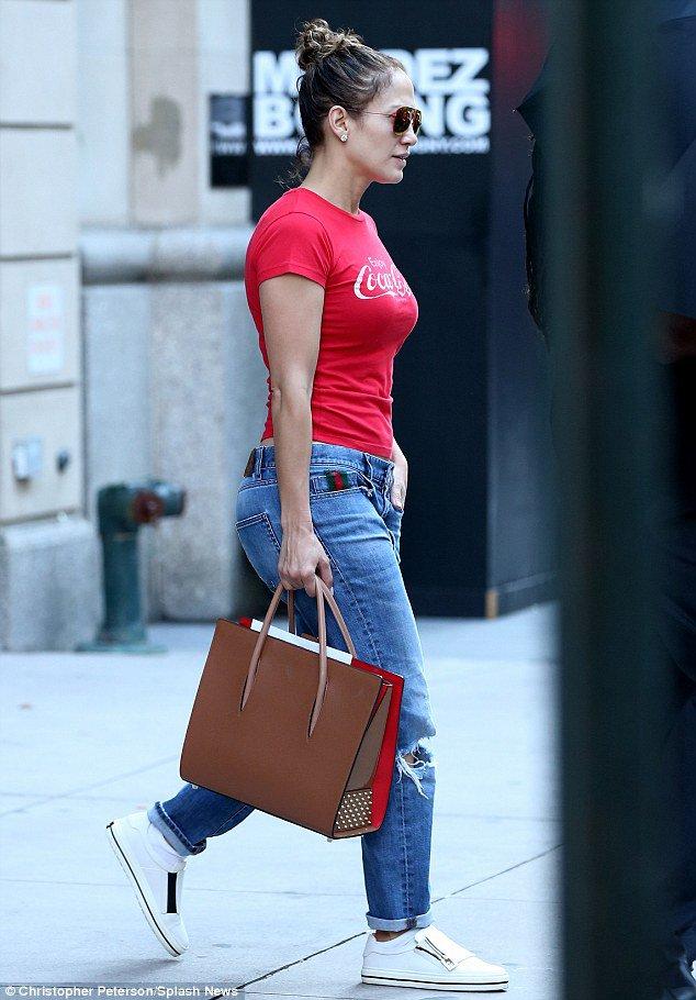 Jen' à New York le 18.10.2016