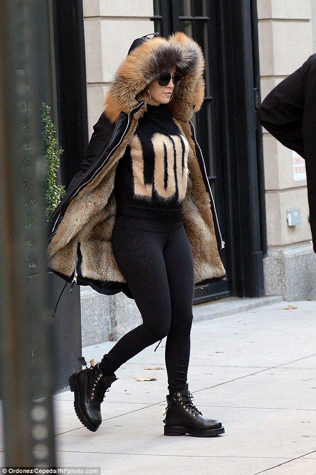 Jen' à New York le 08.11.2016