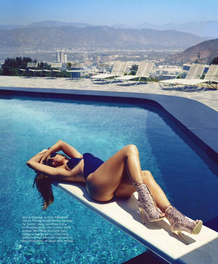 Jennifer Lopez - Harper's Bazaar 2016